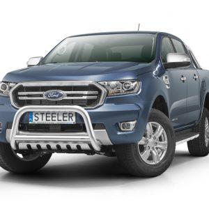 Bull bar grill - Ford Ranger d/c (2019+) EU certifikat