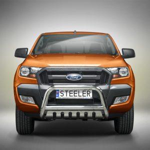 BULL BAR GRILL - Ford Ranger (2012 - 2016 - 2019) EU certifikat