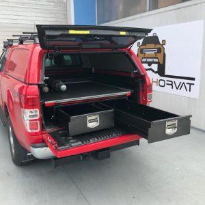 Ladice+polica na izvlačenje - Ford Ranger d/c (2012+)
