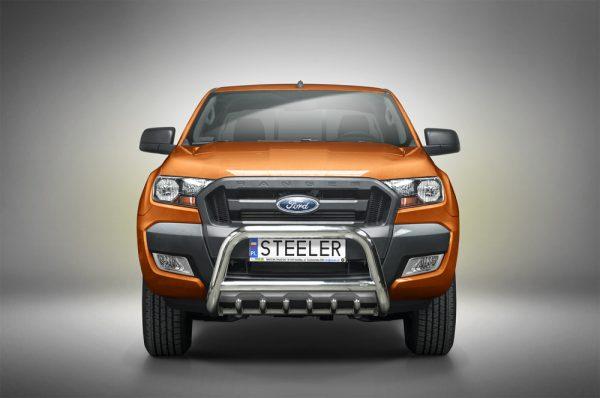Bull bar vile - Ford Ranger e/c - EU certifikat