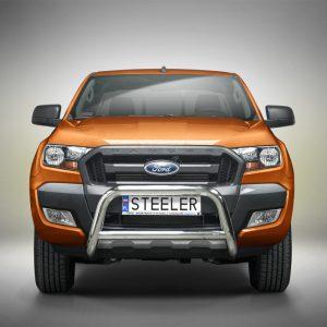 """Bull bar """"A"""" - Ford Ranger (2012 - 2016 - 2019) EU certifikat"""